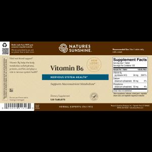 Nature's Sunshine Vitamin B6