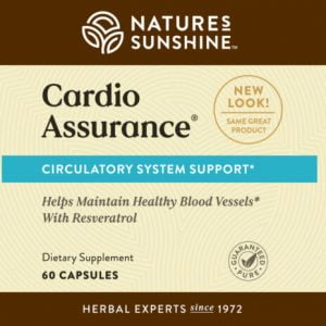 Nature's Sunshine Cardio Assurance Label