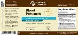 Blood Pressurex Label