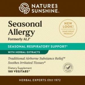 Nature's Sunshine ALJ Label