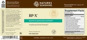 BP-X Label
