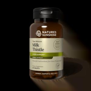 Nature's Sunshine Time Release Milk Thistle