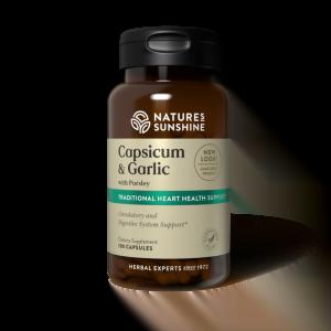 Nature's Sunshine Capsicum, Garlic & Parsley