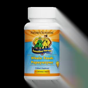 Nature's Sunshine Alimento Integral Papayazyme
