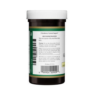 Nature's Sunshine Gingko & Hawthorne Right Label