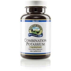 Natures Sunshine Combination Potassium