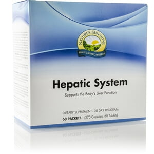 Natures Sunshine Hepatic System