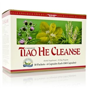 Natures Sunshine Tiao He Cleanse