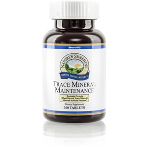 Natures Sunshine Trace Mineral Maintenance