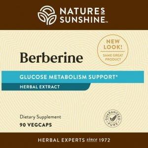 Nature's Sunshine Berberine Label