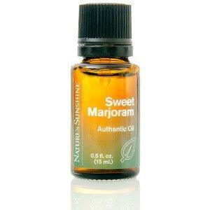 Natures Sunshine Sweet Marjoram Essential Oil