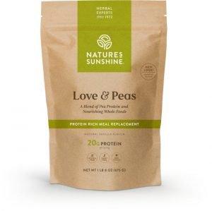 Nature's Sunshine Love and Peas