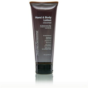 Nature's Sunshine hand and body lotion