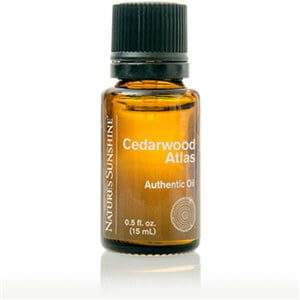 Nature's Sunshine cedarwood atlas