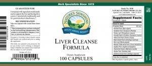 Nature's Sunshine Liver Cleanse Formula