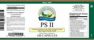 Nature's Sunshine PS II label