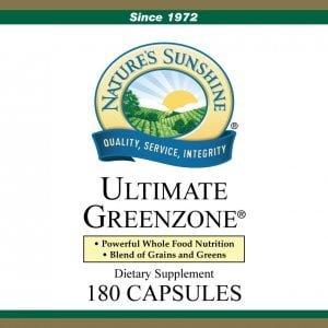 Nature's Sunshine ultimate greenzone label