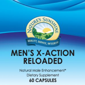 Nature's Sunshine Men's X-Action Reloaded Label