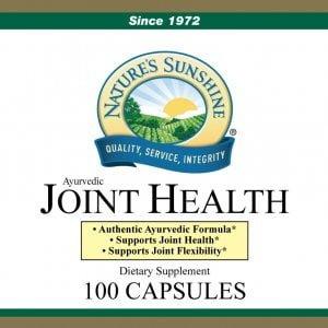 Nature's Sunshine joint health label