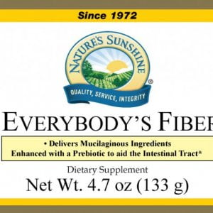 Nature's Sunshine everybody's fiber label