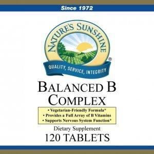 Nature's Sunshine balanced b complex
