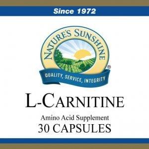 Nature's Sunshine l-carnitine