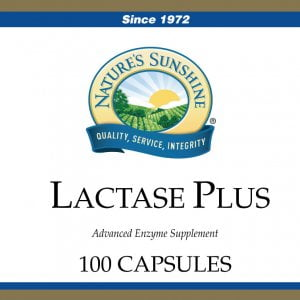 Nature's Sunshine lactase plus
