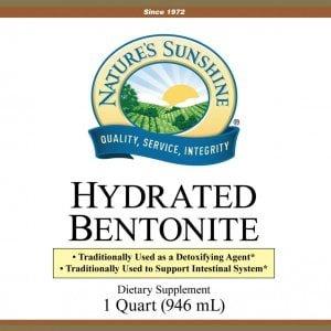 Nature's Sunshine Hydrated Bentonite