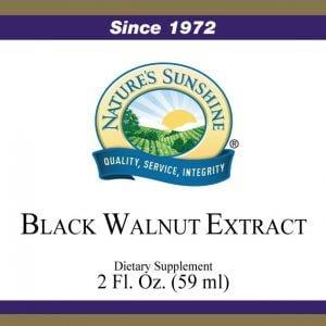 Nature's Sunshine black walnut extract