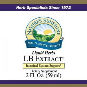 Nature's Sunshine lb extract label