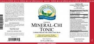 Nature's SunshineNature's Sunshine mineral chi tonic