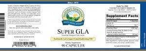 Nature's Sunshine super gla label