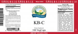 Nature's Sunshine kb-c label