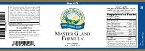 Master Gland Formula Natures Sunshine