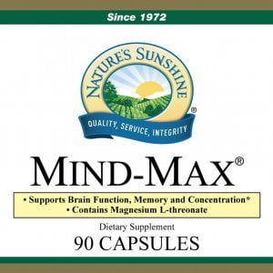 Nature's Sunshine mind max label