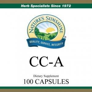 Nature's Sunshine CC-A Label