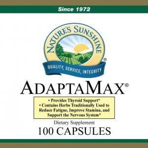 Nature's Sunshine Adaptamax label