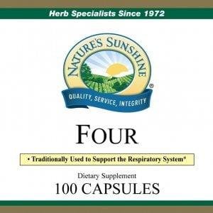 Nature's Sunshine Four Label
