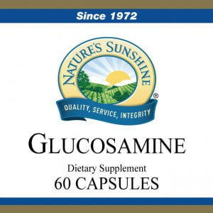 Nature's Sunshine Glucosamine Label