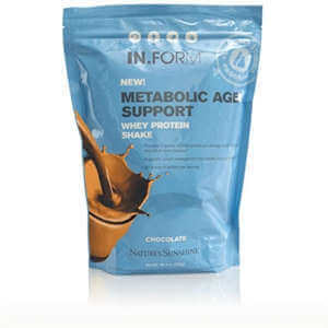 Nature's Sunshine IN.FORM Metabolic Age Support Whey Protein Shake Chocolate
