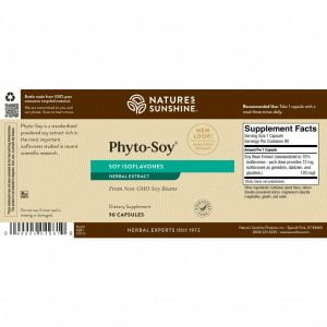Nature's Sunshine Phyto Soy Label